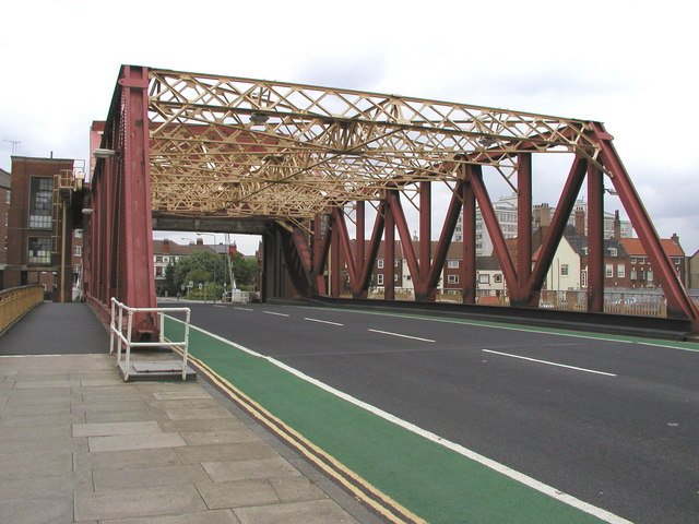 Drypool Bridge on the River Hull