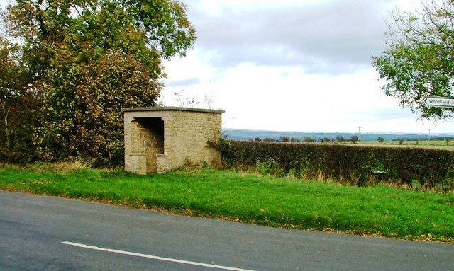 Bus Shelter, Near Morley Hall Farm