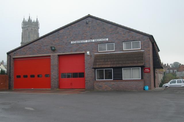 Glastonbury fire station