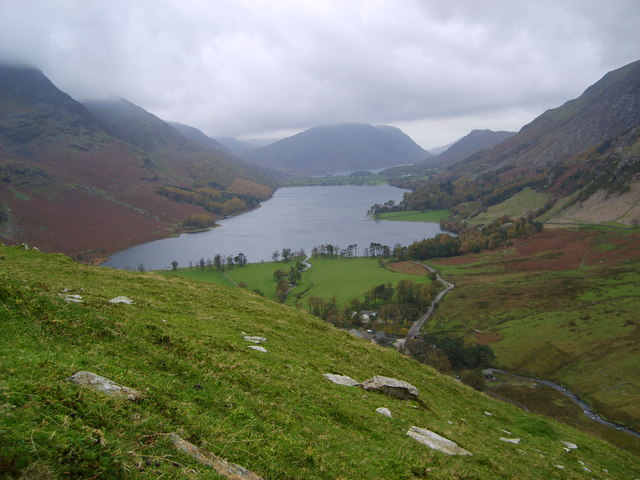 Buttermere off Fleetworth Pike