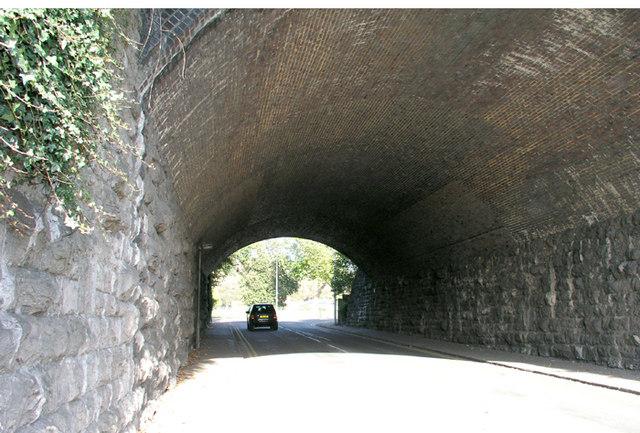 Railway Bridge, near Romilly Park, Barry