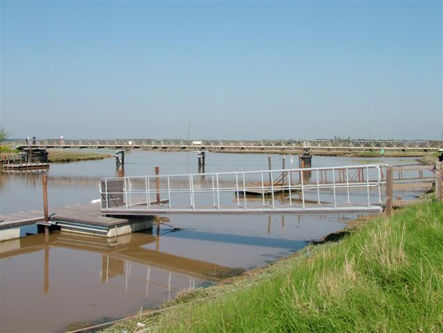 Foot bridge from Southwold to Walberswick