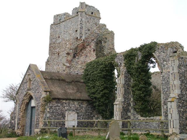 Ruined Church, Billockby, Norfolk