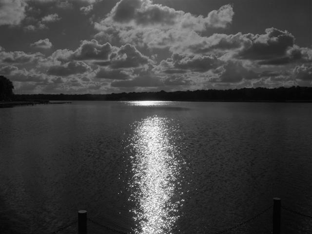Moonlight on Rollesby Broad, Norfolk