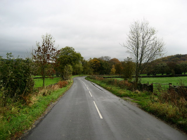 Road between Darley and Birstwith
