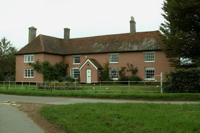 Farmhouse at Shelley Priory Farm