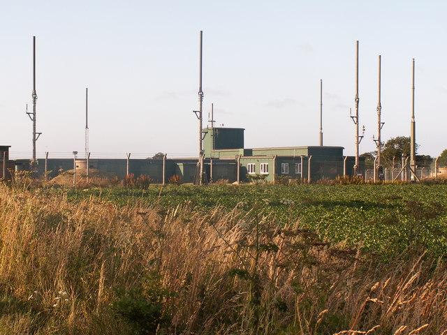 Military installation near Barton Turf