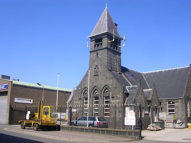 Former School on York Street, Aberdeen