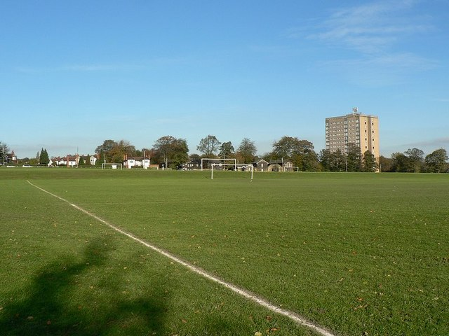 Playing Fields, Scott Hall Road