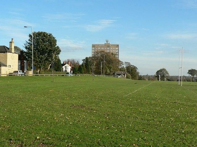 Potternewton Lane and playing fields