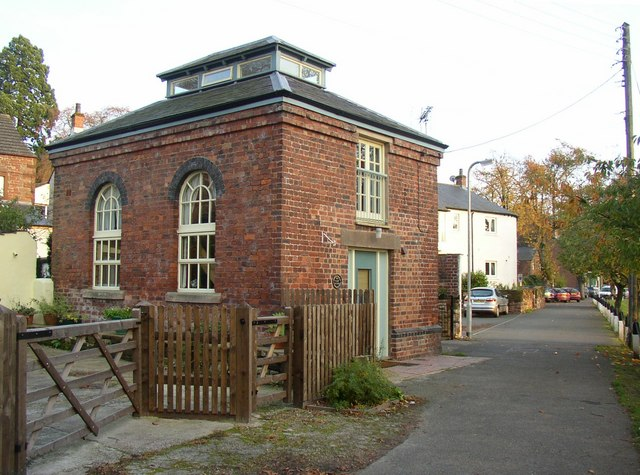Pump House, riverside path off The Sands, Appleby