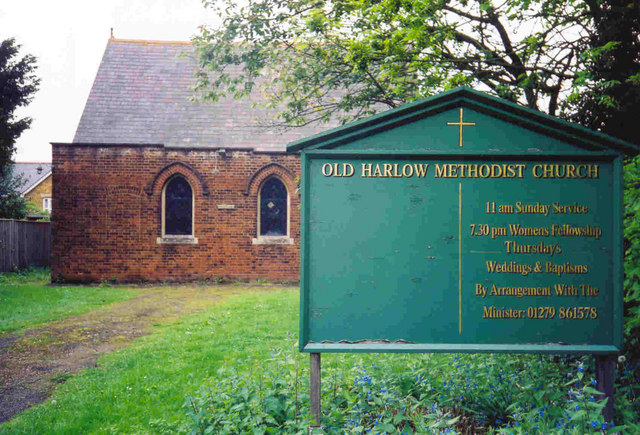 Methodist Church - Old Harlow