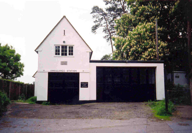 Ambulance Garage - Old Harlow