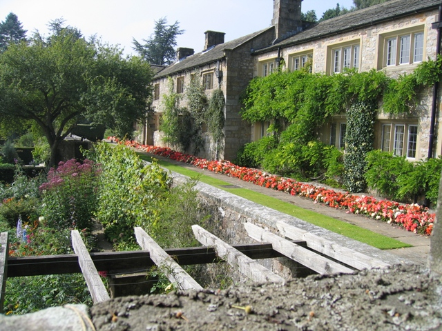 Parcevall Hall and garden