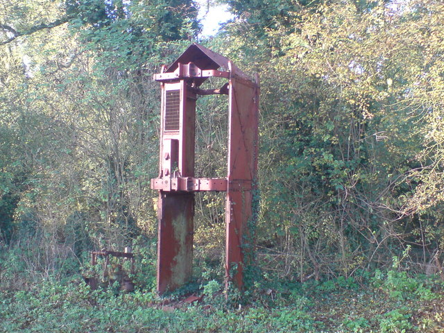 Pit cage from nearby Donisthorpe Colliery