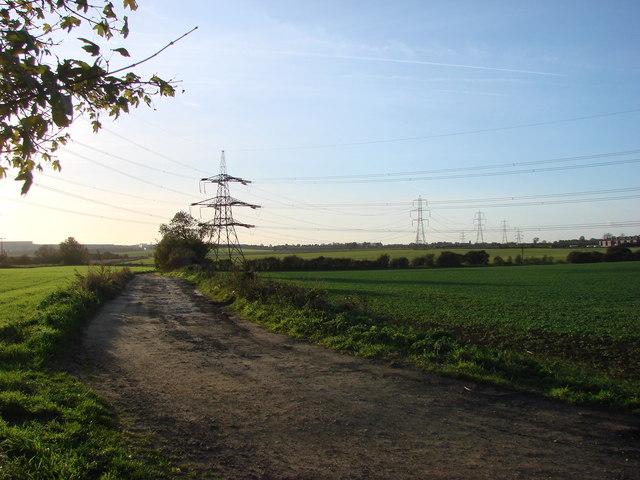 Cart Track off Sleep Hill Lane, Sleep Hill