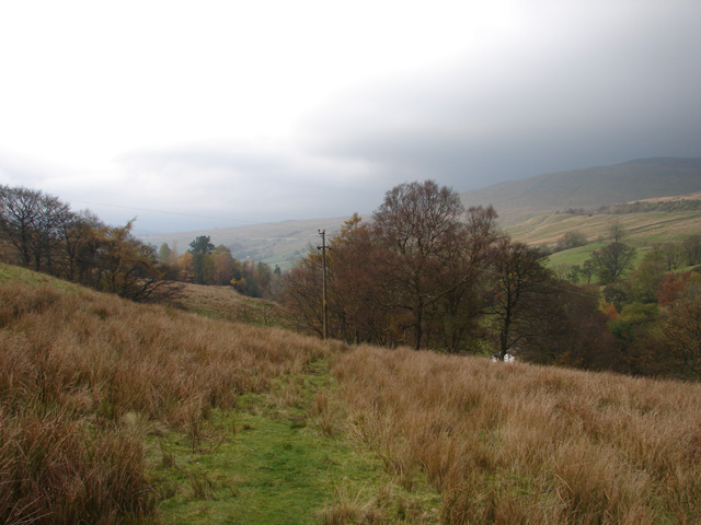 Path to Blea Moor