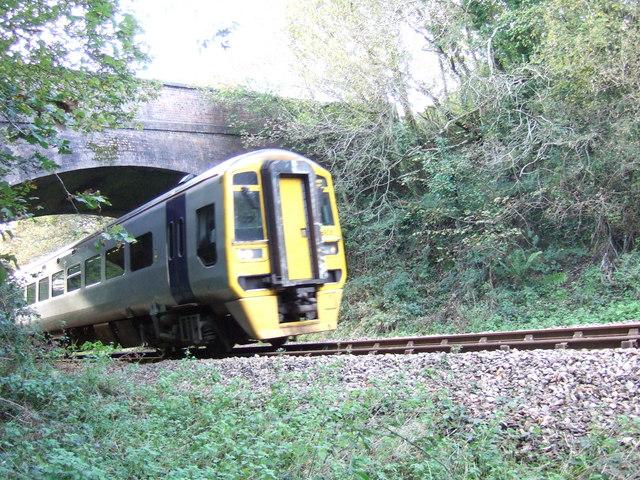 Railway bridge, Trefwrgi Road, Wdig/Goodwick