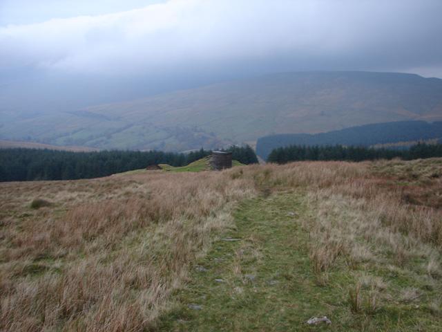 Footpath across Blea Moor