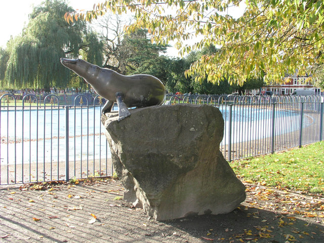 Billy the Seal, Victoria Park, Cardiff