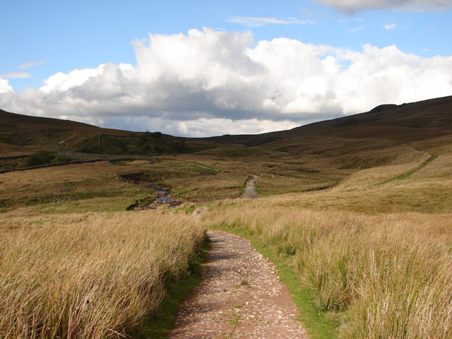 Track at Little Dale