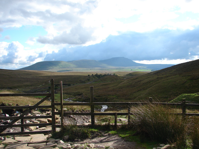 Path to Whernside