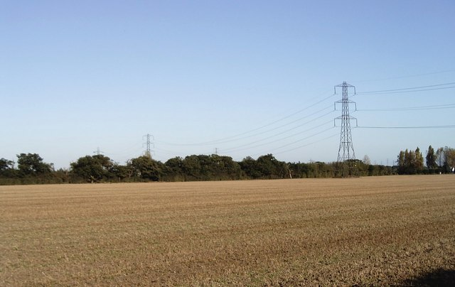 View from St Peter's Way footpath, Tillingham