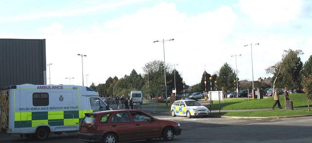 Emergency Services'  Waiting Area at Ysbyty Gwynedd