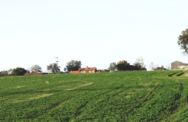 Farmland near Bradwell Hall, Tillingham