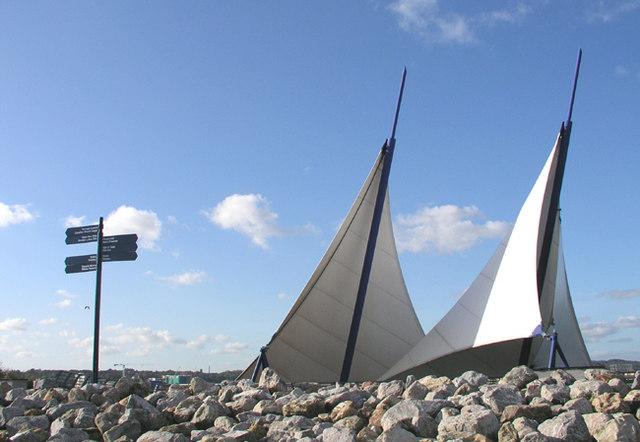 Public Art, Cardiff Bay Barrage