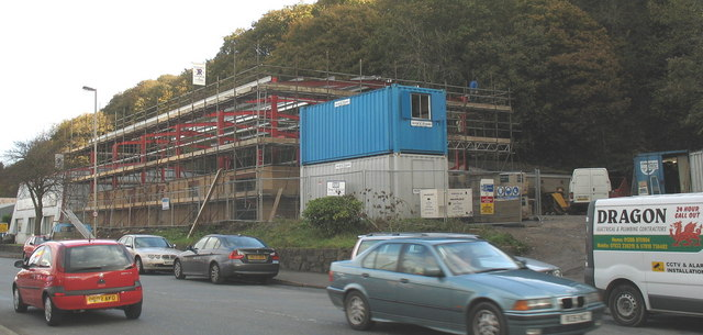 Building a new depot for City Electrical Factors in Caernarfon Road