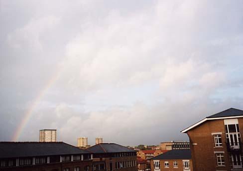 Rainbow over Bow Quarter