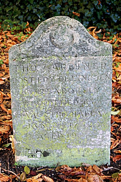 Thomas Gardiner's grave