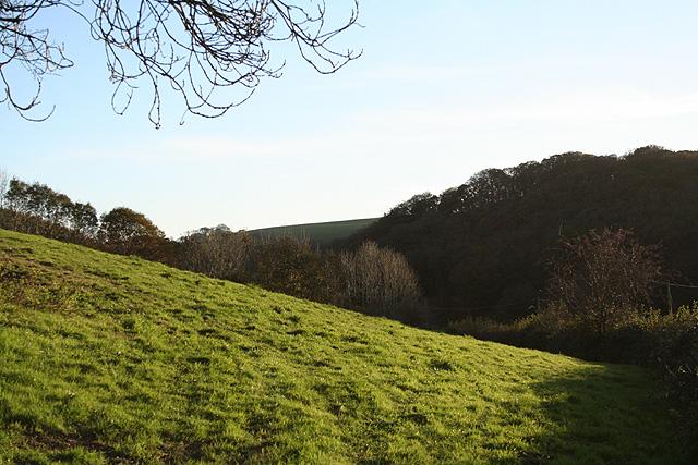Loxhore: valley near Loxhore Cott