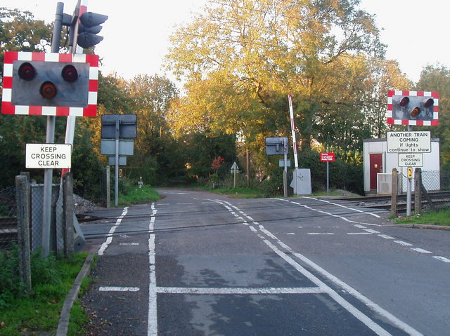 Level crossing at Newton Flotman