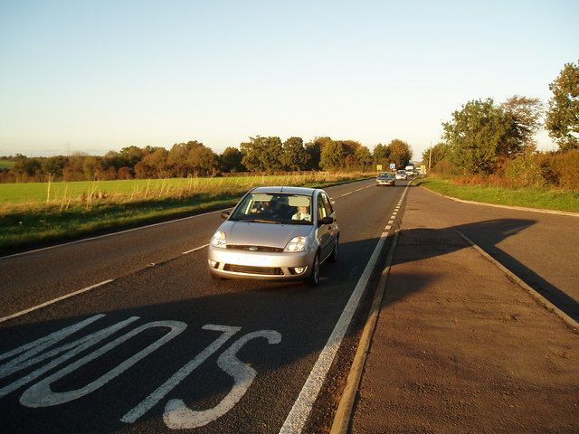 A140 between Newton Flotman and Swainsthorpe