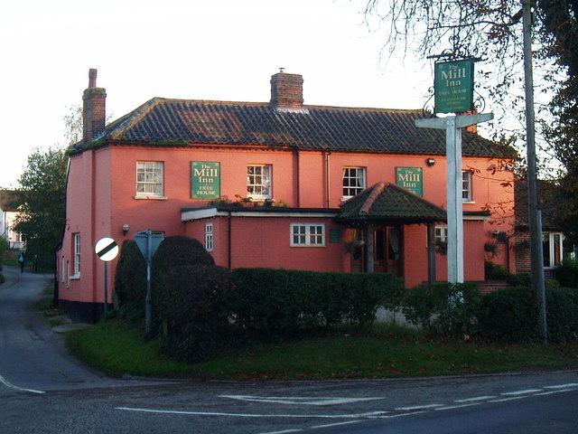 The Mill Inn, Saxlingham Thorpe