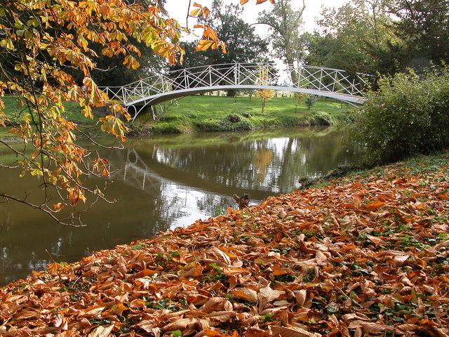 Footbridge in Croome Landscape Park