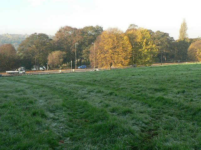 First frost, November morning, Abbey House Museum grounds