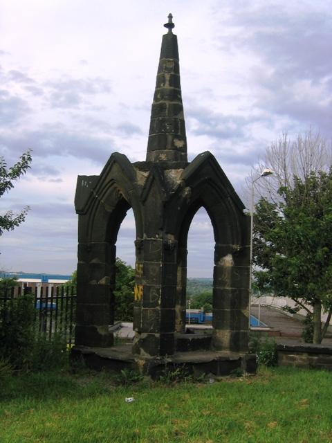 The spire of Bramley St Margaret