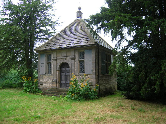 Charles Cotton's Fishing House built (1674) on the Banks of the River Dove