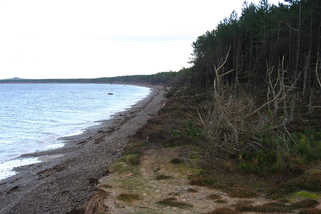 Burghead Bay near Findhorn