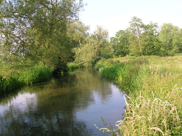 River Nadder at Wilton