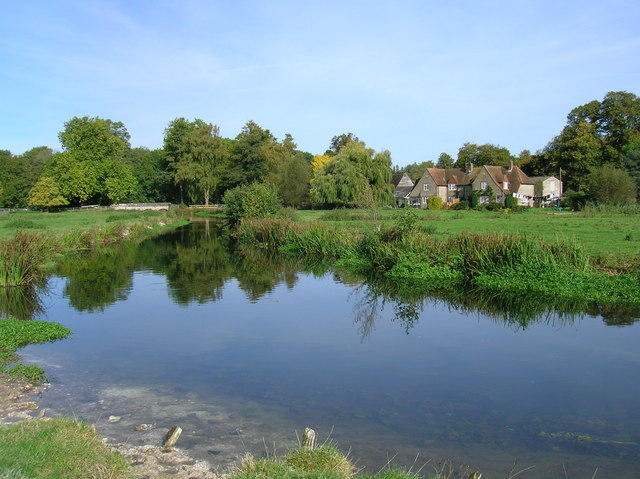 River Avon at Little Durnford