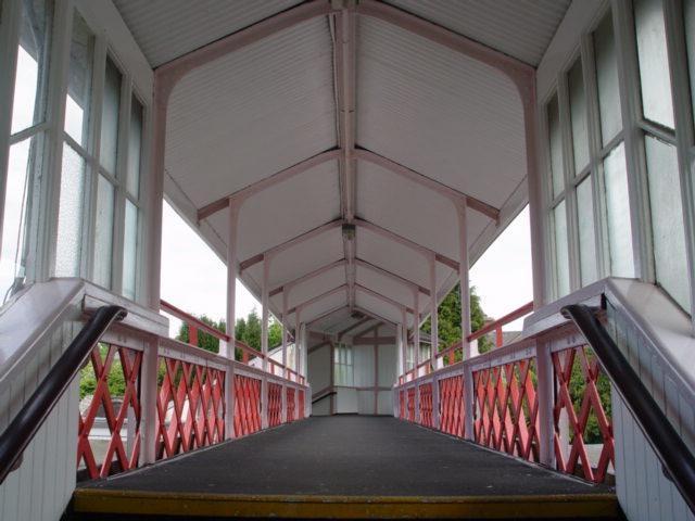 Footbridge At Kemble Station