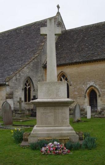 Tetbury War Memorial St Saviours New Church Street