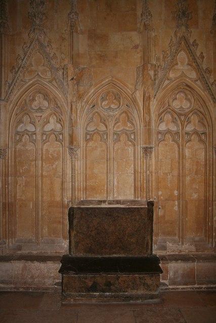 The shrine of Little St.Hugh