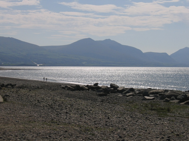 The beach at Dinas Dinlle