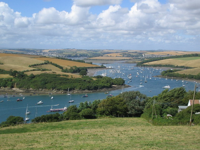 Charleton Point from Salcombe