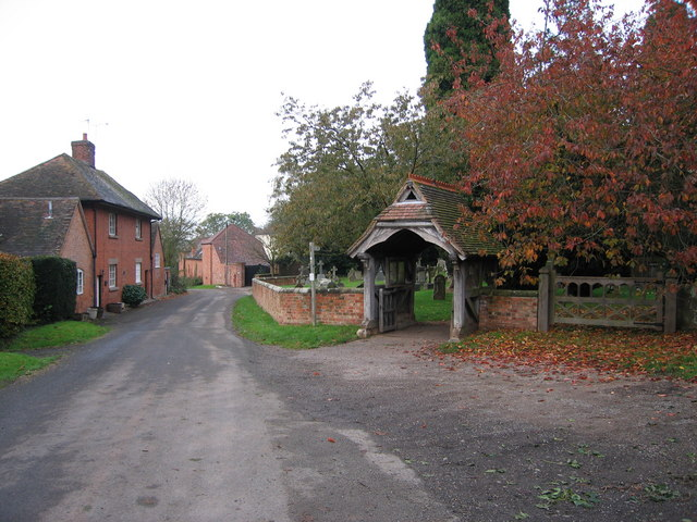 Lytch gate to St Michael's and All Angels church,  Salwarpe